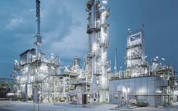 Linde PLANTSERV, performance, experience, efficiency, Hungarian chemicals company BorsodChem in Kazinbarcika, Hungary