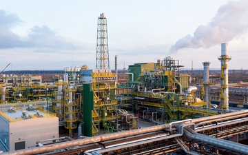 Linde-built ammonia plant in Togliatti, Russia, based on the Linde Ammonia Concept (LAC?).