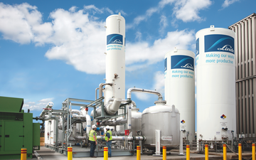 Linde plc small onsite plant, U.S.