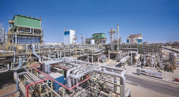 The Linde-built hydrocarbon  and ammonia  plant