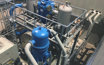 The LINDE PLANTSERV team installed two new piston compressors at the Linde Gas site in Linz, Austria