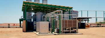 A-series nitrogen PSA plant with high pressurenitrogen storage