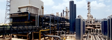 Ammonia plant in Vadodara, India Customer: Gujarat State Fertilizer Company