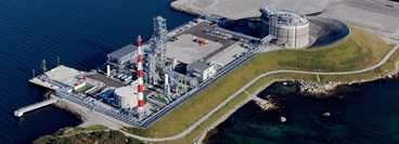 LNG plant for Lyse Infra AS in Stavanger, Norway / 900 tons LNG per day / start of production September 2010