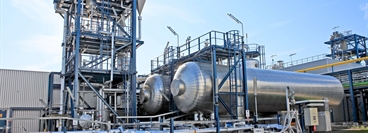 CO2 purification and liquefaction plant; CO2 storage; Client: Vattenfall