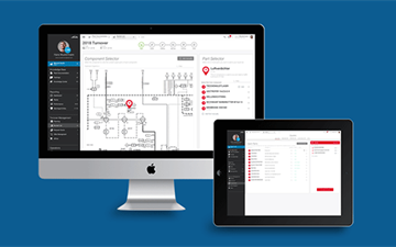Linde PLANTSERV performance and efficiency, LINDE PLANTSERV Portal